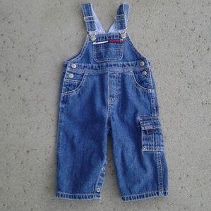 fbb94889 Tommy Hilfiger 6-12 months overalls blue jean pant